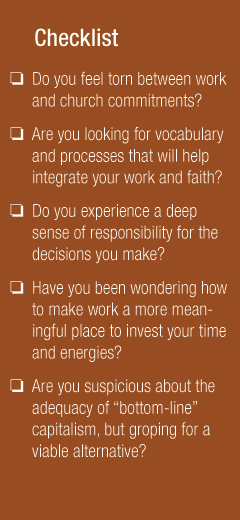 Work-Faith Checklist